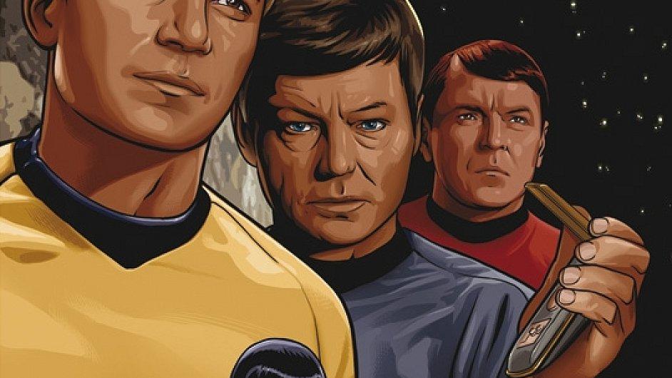 V Česku poprvé vyšel Star Trek v komiksové podobě