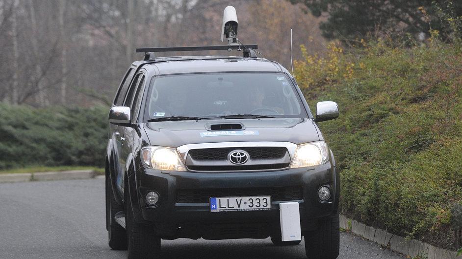 Ilustrační foto: Měřicí systém DSP310 na měření meteorologických podmínek za pohybu na silnicích