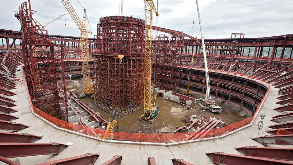 Výstavba olympijských sportovišť v Soči