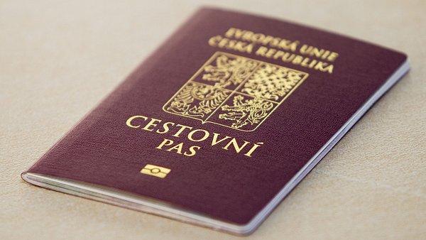 Cestovní pas, ilustrační foto.