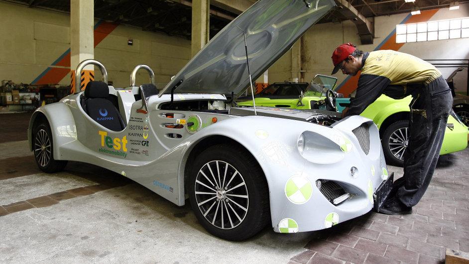 Roadstery již dvaadvacet let vyrábí smržovská firma Kaipan