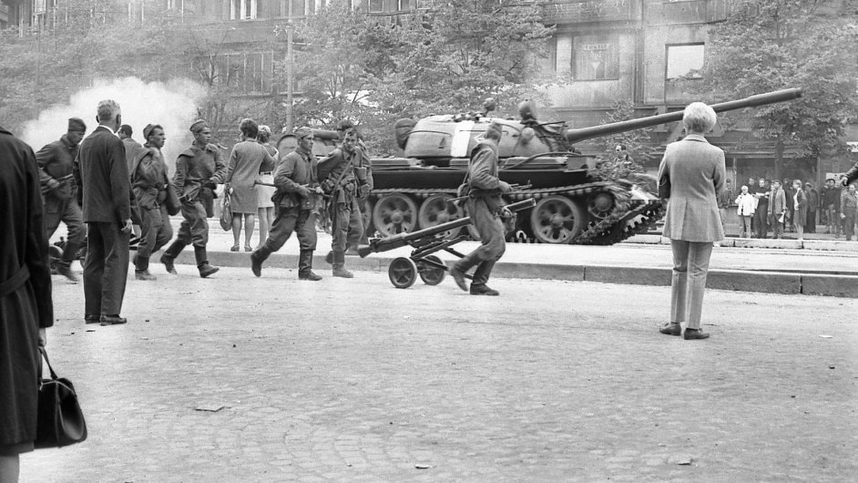 45. výročí invaze vojsk Varšavské smlouvy 20. srpna 1968 - Ilustrační foto.