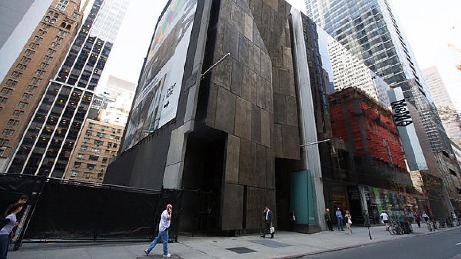 Budova Muzea amerického lidového umění, která má být kvůli rozšíření Muzea moderního umění stržena.