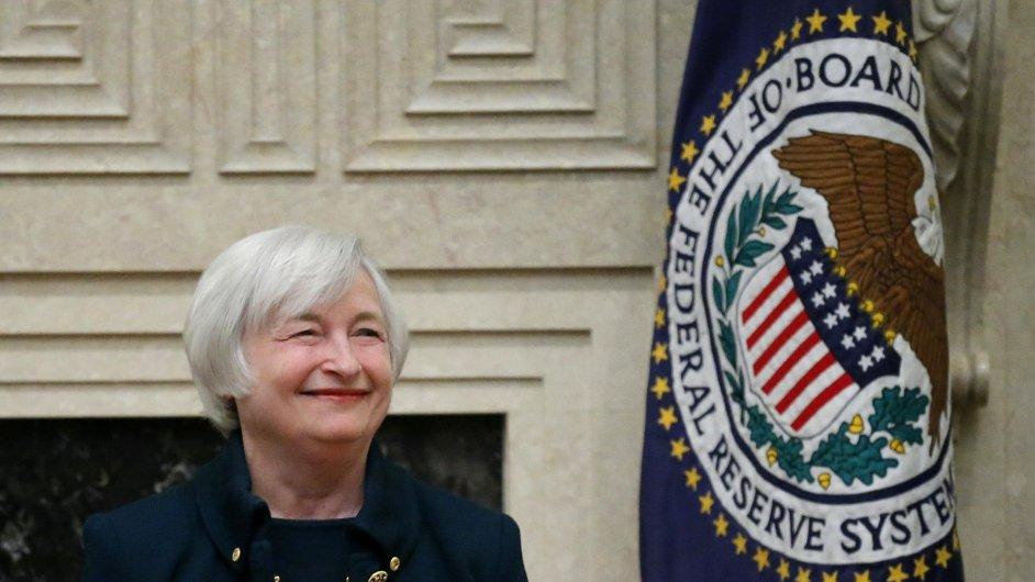 Janet Yellenová je směrem k budoucnosti americké ekonomiky optimistická.