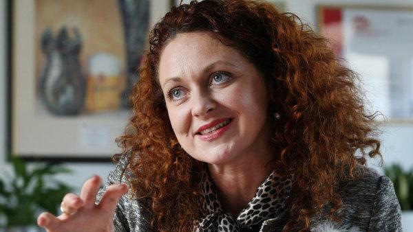 Drahom�ra Mand�kov�, jedna z mentorek Equal Pay Day