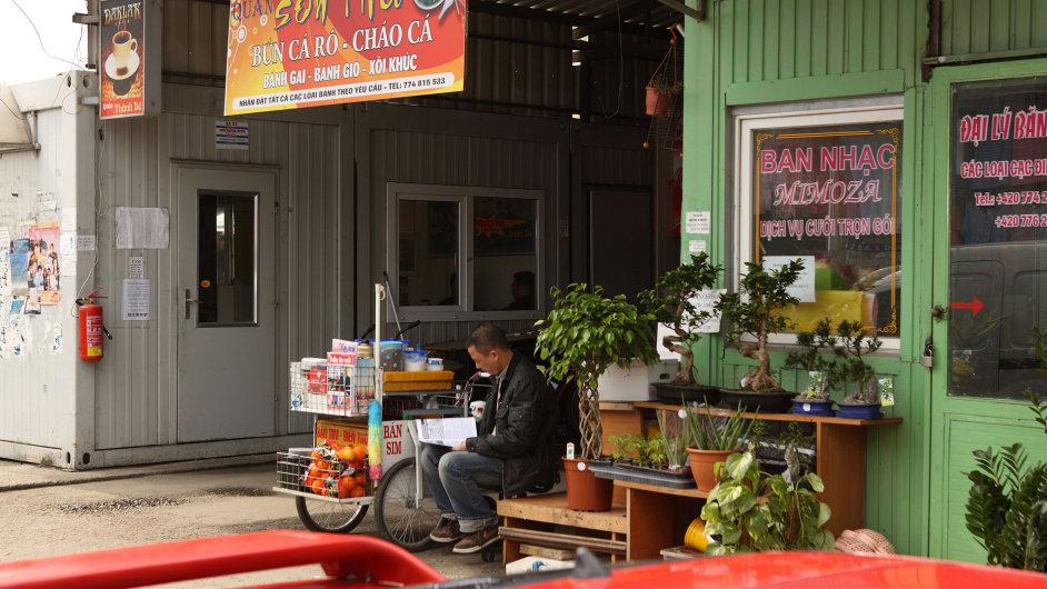 Tržnice SAPA v pražské Libuši