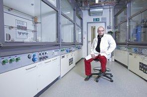 Nanochemik a hudební skladatel Cígler: Snad jsem na správné vlně