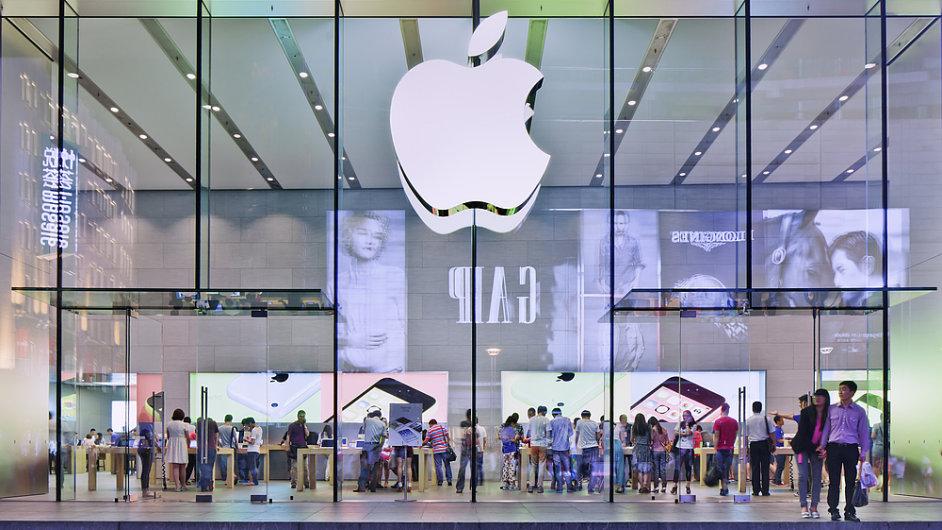 Apple pokračuje v rekordních výsledcích (ilustrační foto).