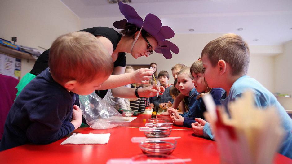Díky norským penězům vzniknou v Česku další miniškolky, například v Brně nebo ve Valašském Meziříčí. Ilustrační foto