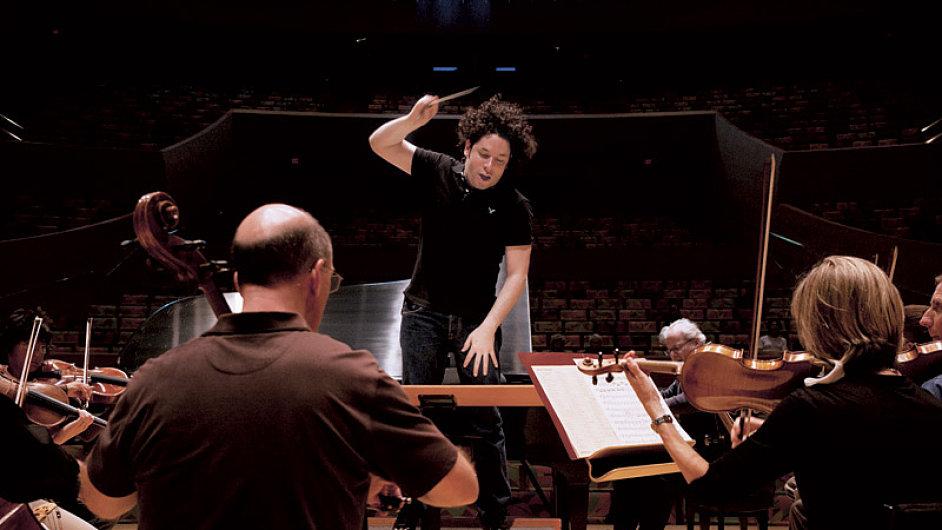 Gustavo Dudamel patří k největším talentům mezi mladými dirigenty.