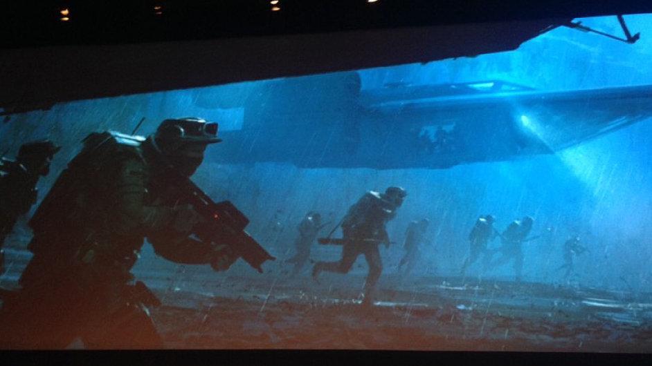 První pracovní vizualizace z filmu Star Wars: Rogue One