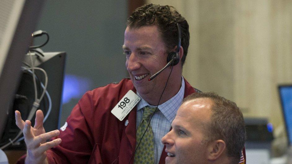 Obchodníci na Wall Street