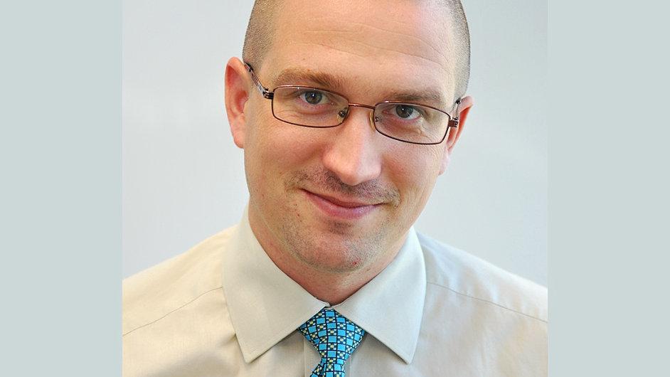 Petr Panec, obchodn� �editel spole�nosti OKsystem