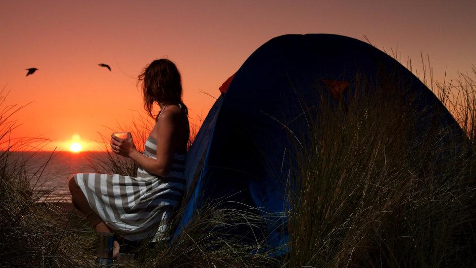 Někteří lidé jsou samotáři a dávají přednost individuální dovolené – ilustrační foto.
