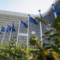 Centr�la Evropsk� komise v Bruselu - Ilustra�n� foto.