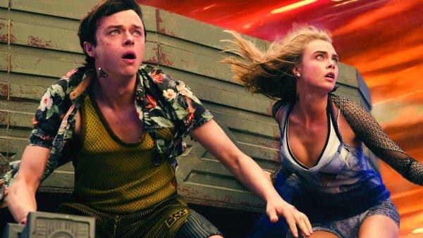 Hrdiny snímku Valerian a město tisíce planet ztvárnili Dane DeHaan a Cara Delevigneová.