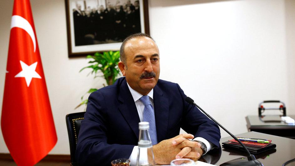 Mevlüt Çavuşoglu, turecký ministr zahraničí.