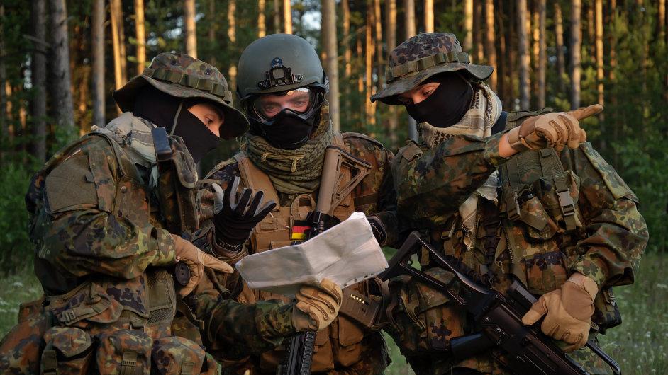 německé vojsko, voják, armáda, německo, výzbroj