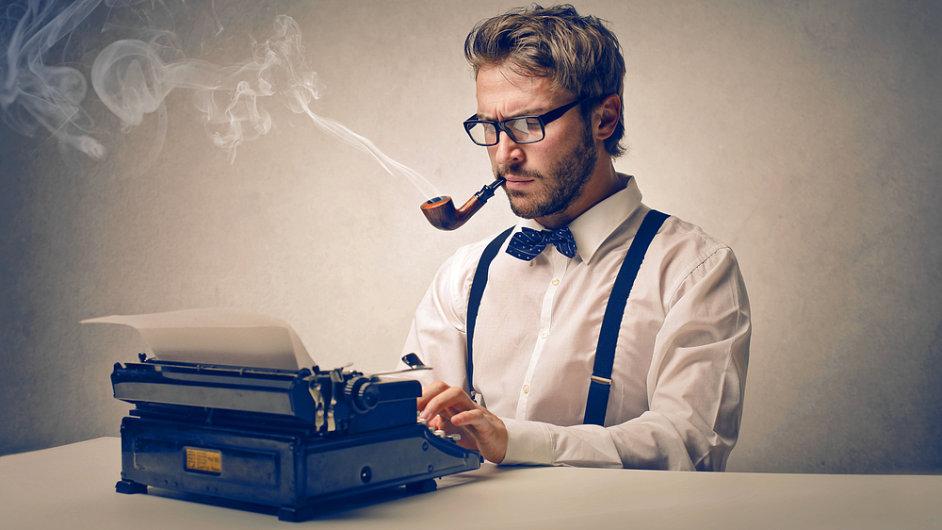 Novinář, redaktor (ilustrační foto)