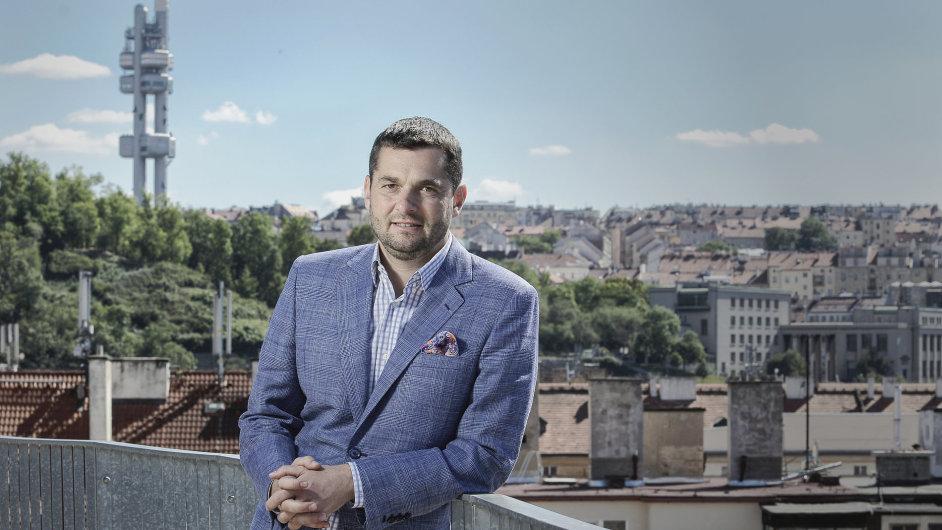 Martin Diviš, předseda představenstva a generální ředitel Kooperativa pojišťovny a prezident České asociace pojišťoven.