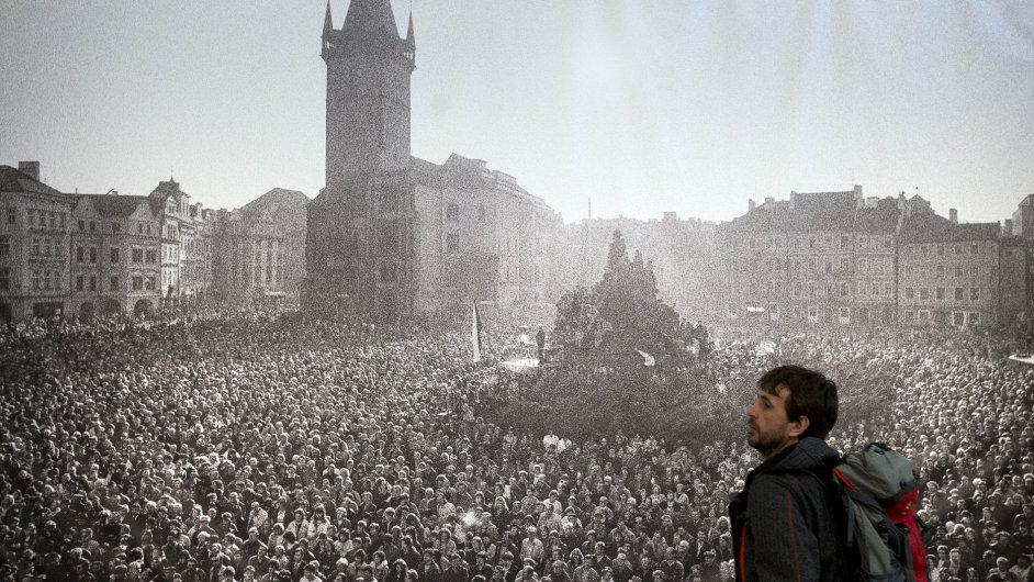 Snímek z výstavy Havel v DOX.