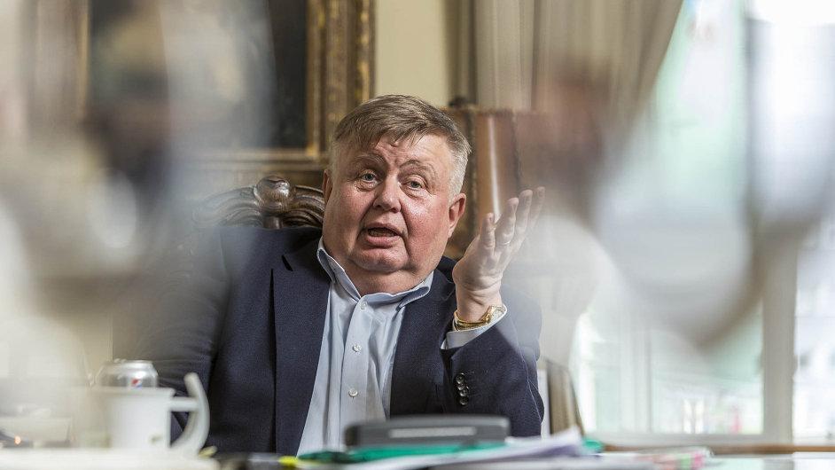 Zakladatel a hlavní vlastník skupiny Vítkovice Jan Světlík.