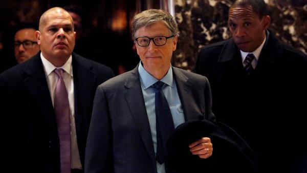Nejbohatším člověkem světa zůstal spoluzakladatel softwarové společnosti Microsoft Bill Gates, jehož majetek se vyšplhal na 91,5 miliardy dolarů (2,4 bilionu korun).