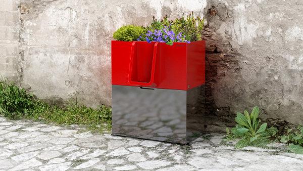 Prototyp ekologického pisoáru, který přeměňuje moč na hnojivo.