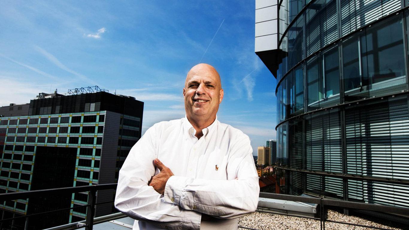 Generální ředitel antivirové společnosti Avast Vince Steckler.