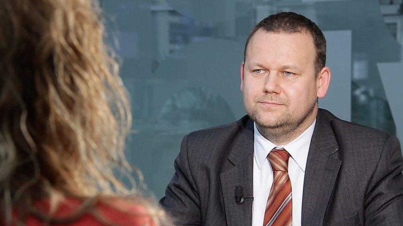 Na snímku je nový ředitel Národní knihovny Martin Kocanda.