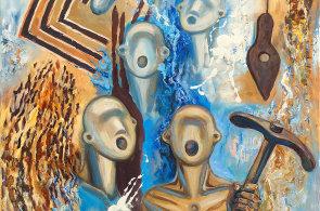 V Kroměříži vystavuje ukrajinská malířka žijící v Česku Kravčenko, inspiraci hledala v zahraničí