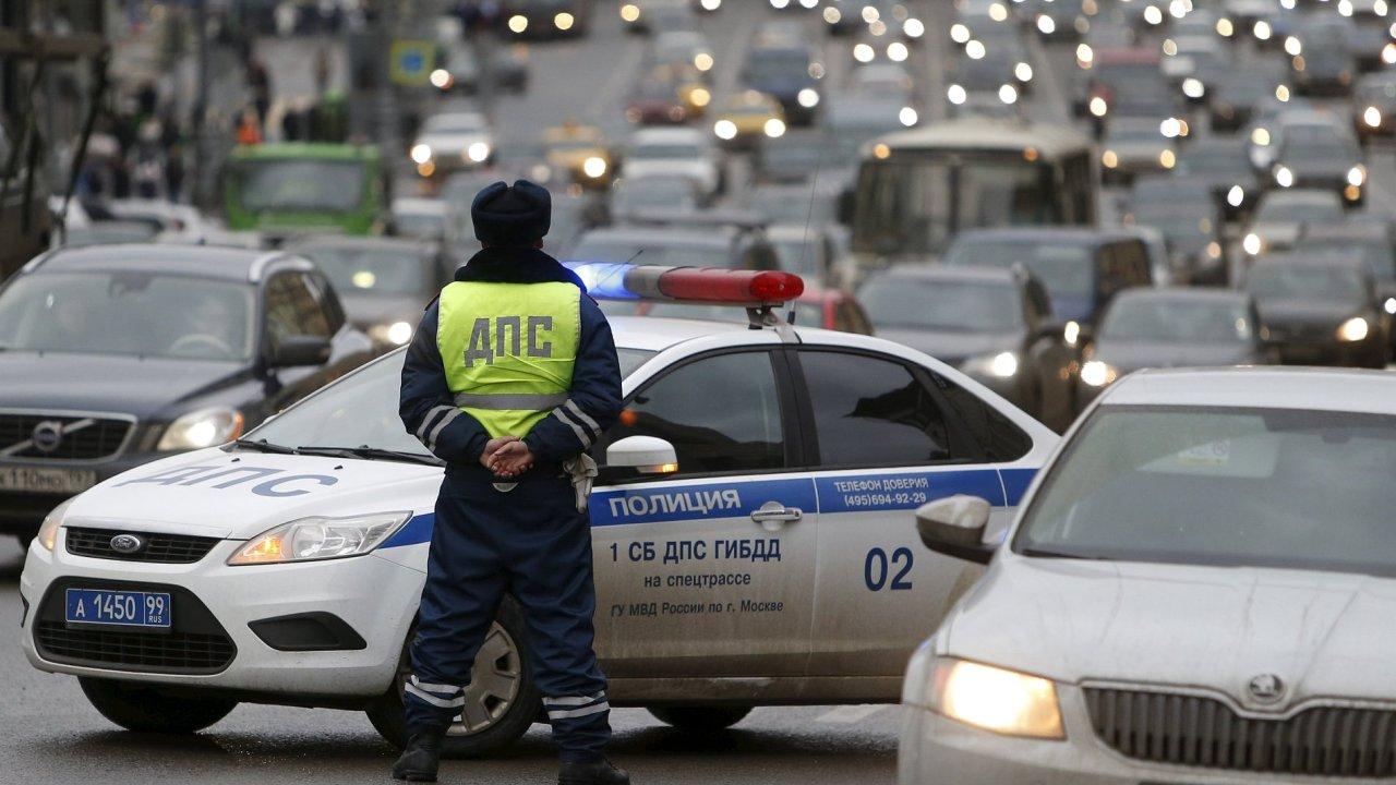 Ruská policie - Ilustrační foto.