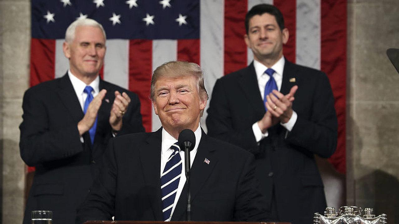 Donald Trump ke stavu unie: Toto je náš nový americký moment