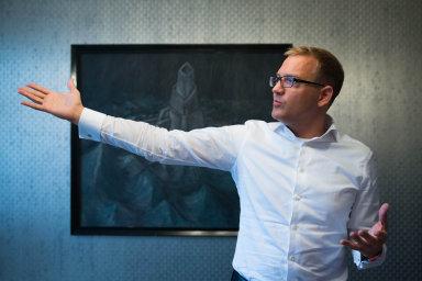 Daniel Křetínský, český miliardář, který má podle žebříčku časopisu Forbes majetek 2,9 miliardy dolarů.