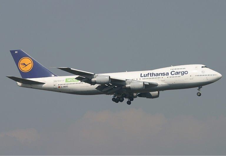 Lufthansa Cargo Boeing 747-200