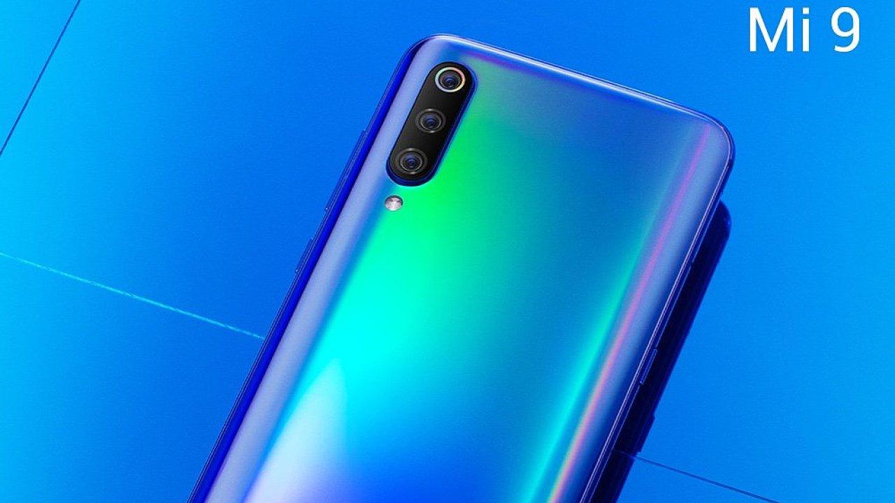 Nový telefon Xiaomi Mi 9.