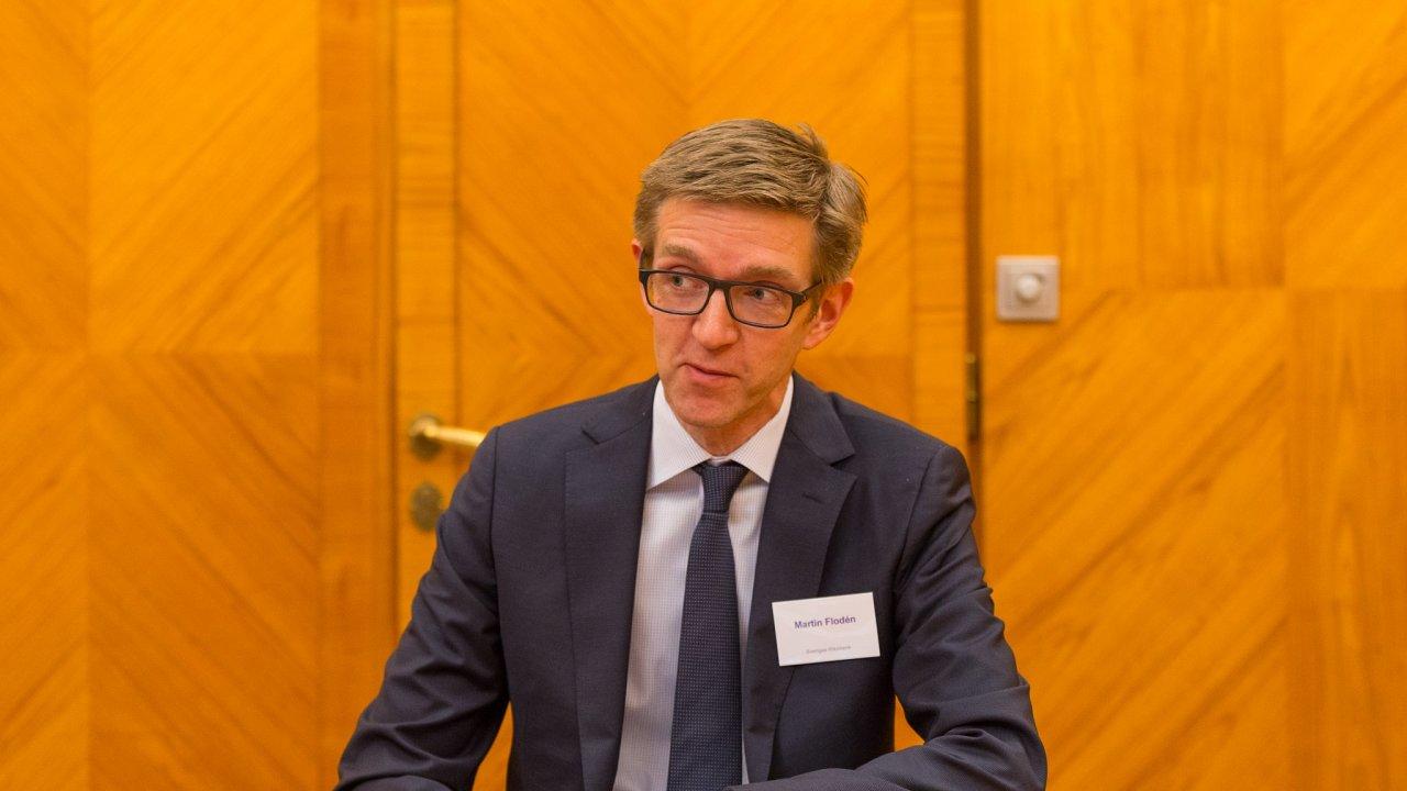 Martin Flodén, viceguvernér švédské centrální banky.