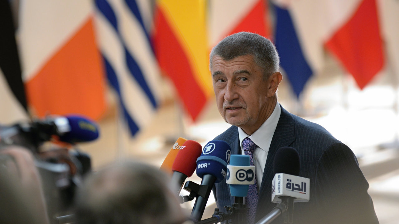 Andrej Babiš, Brusel, EU, summit