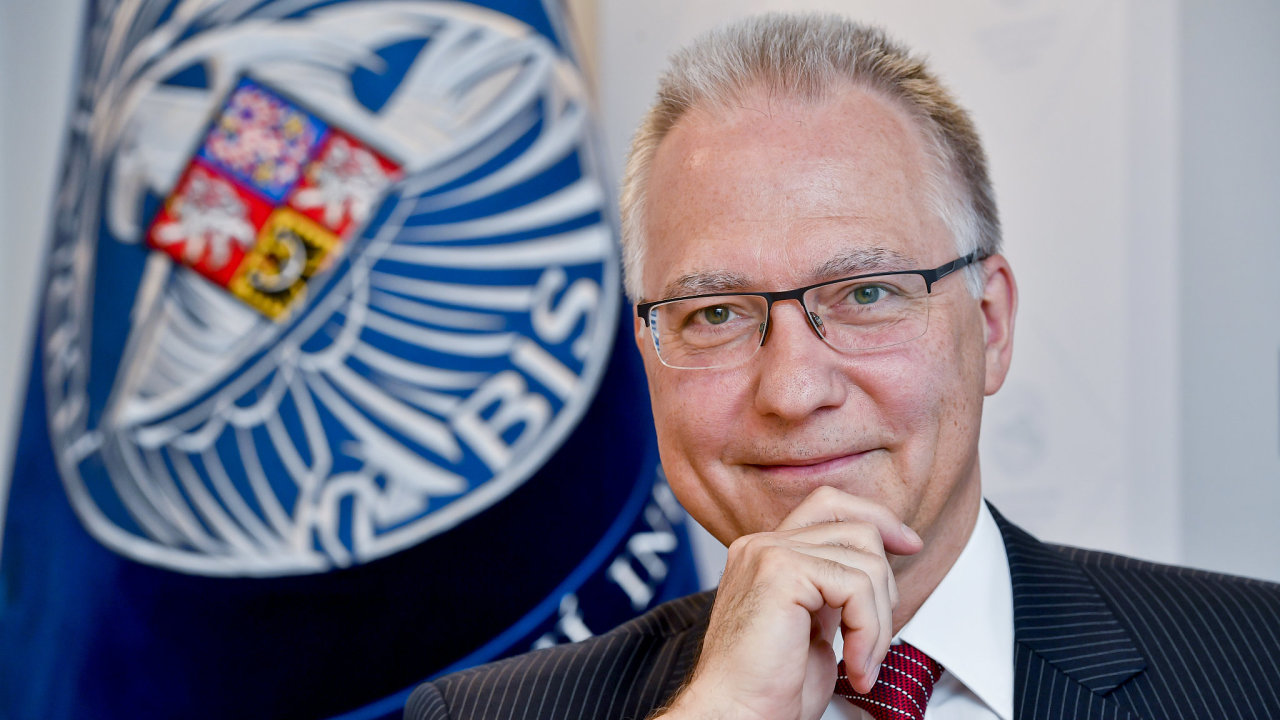 Ředitel Bezpečnostní informační služby (BIS) Michal Koudelka.