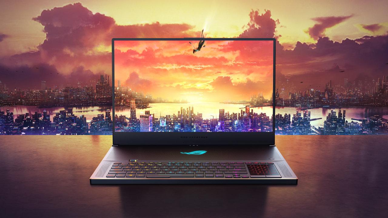 Asus Zephyrus S je extrémně výkonný tenký notebook s netradiční konstrukcí.