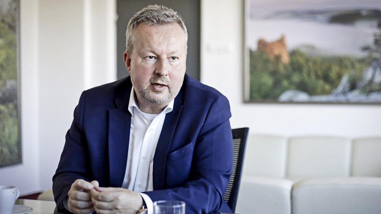 Ministr životního prostředí ČR Richard Brabec