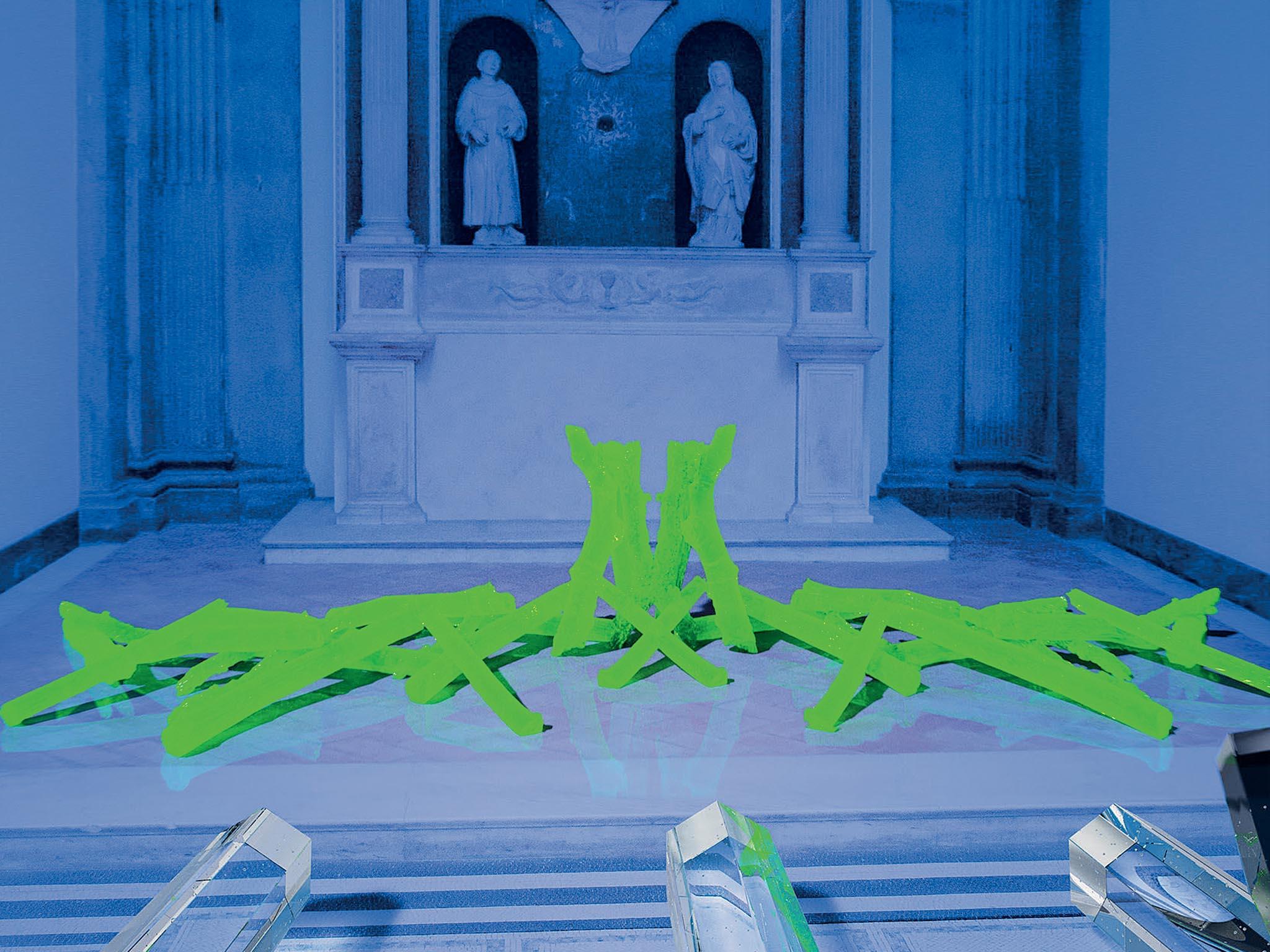 Unikátní skleněnou instalaci vycházející zmyšlenky posvátné geometrie představí Rony Plesl vrámci londýnského festivalu designu.