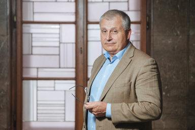 Prezident Svazu podnikatelů vestavebnictví vČR Jiří Nouza.