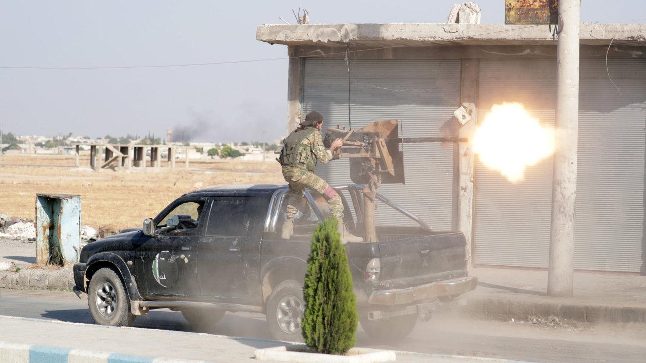 Sýrie voják