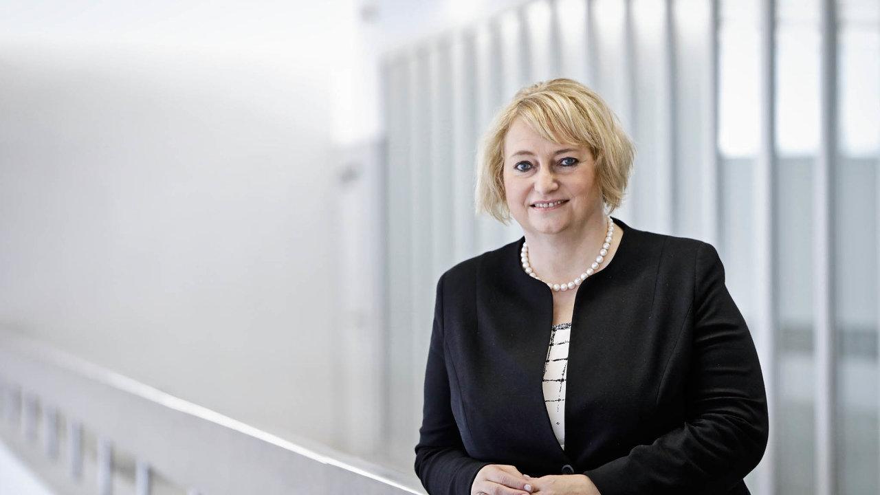 Předsedkyně Zvláštního tribunálu pro Libanon Ivana Hrdličková