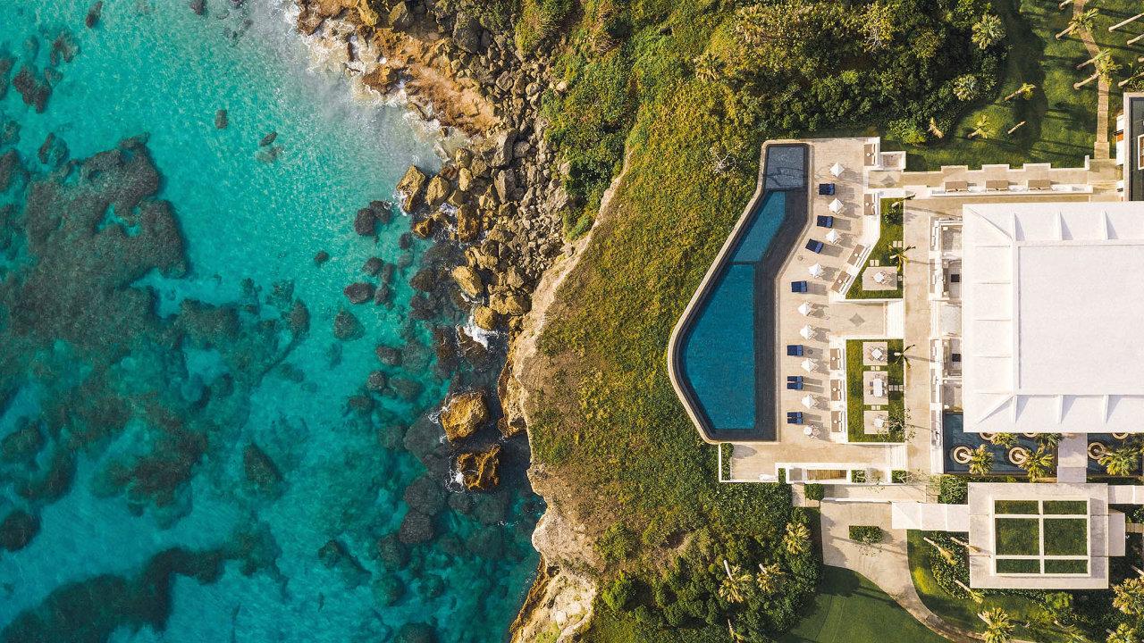 Tropický resort Amanera je jedním z klenotů luxusního hotelového řetězce Aman.