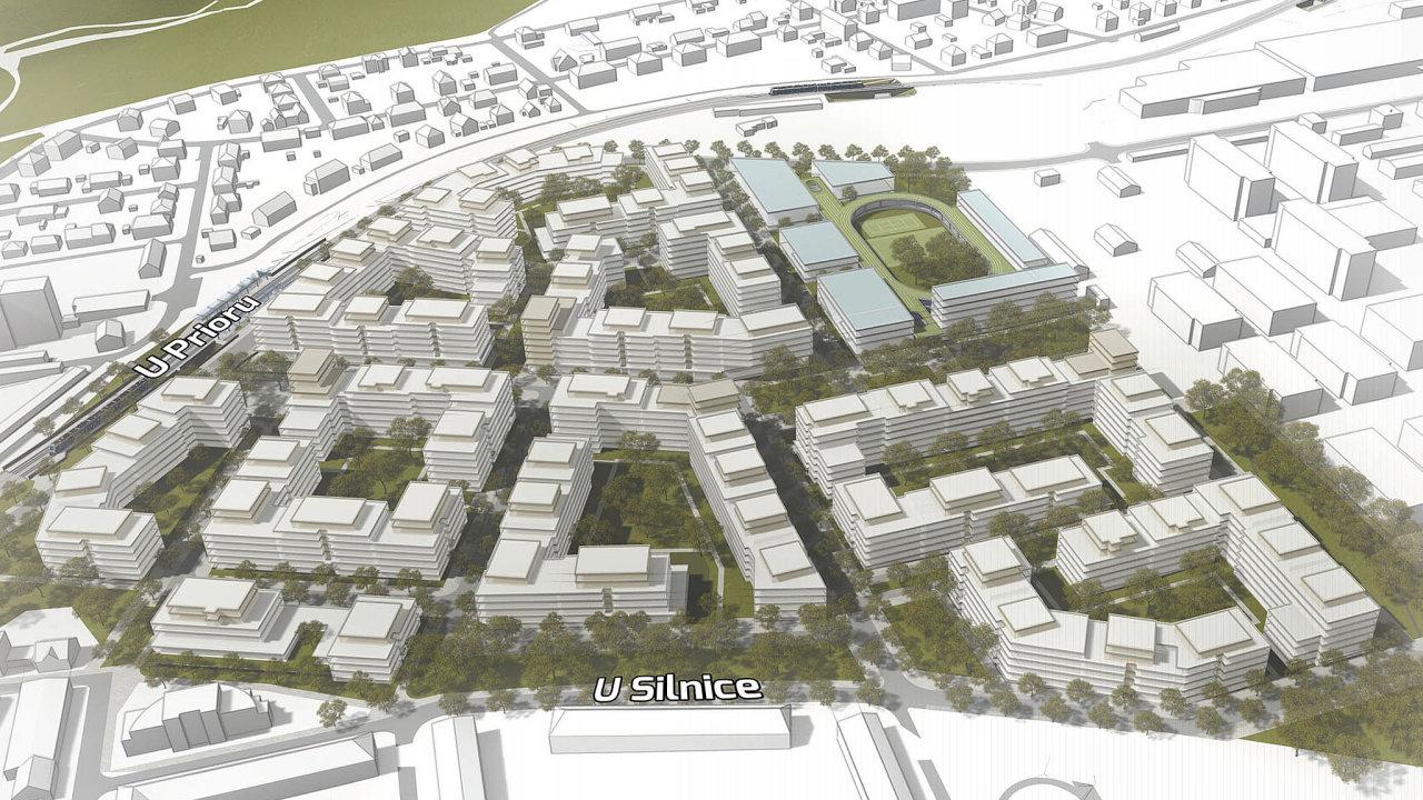Společnost Central Group chystá novou obytnou čtvrť vPraze6, poblíž ruzyňského letiště.
