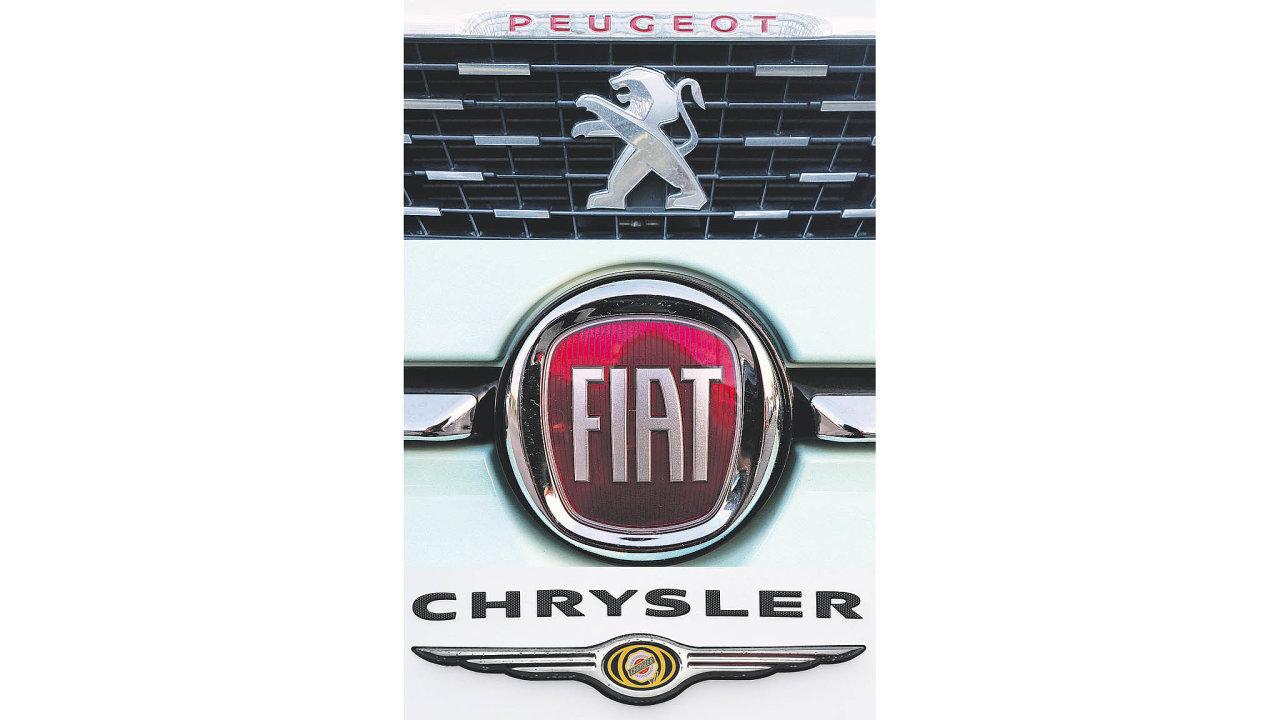 """Společnosti PSA Group a Fiat Chrysler Automobiles včera schválily """"spojení rovných"""". Vznikne čtvrtá největší automobilka na světě prodávající 8,7 milionu vozů ročně."""