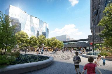 Čtvrť Nový Opatov by se měla začít stavět v roce 2021, její dokončení Finep plánuje na rok 2026.