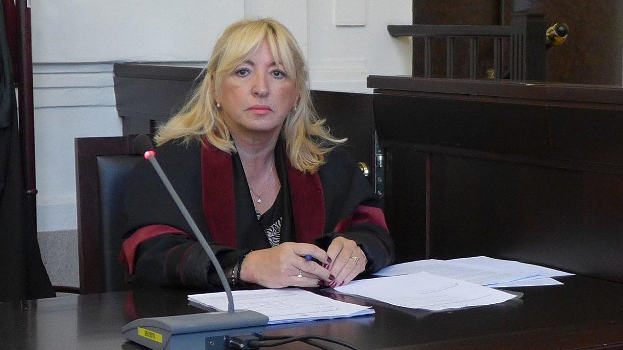 Žalobkyně Dagmar Máchová